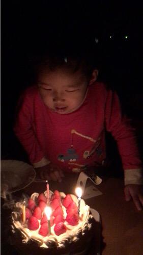 成長感じる【4歳の誕生日】