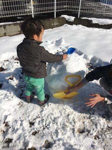 大雪降りましたが… 元気に営業!!