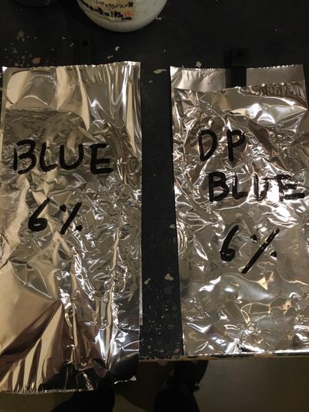 【アプリエレシピ】ブルーとディープブルーはどんだけ違うのか染めて検証してみた。