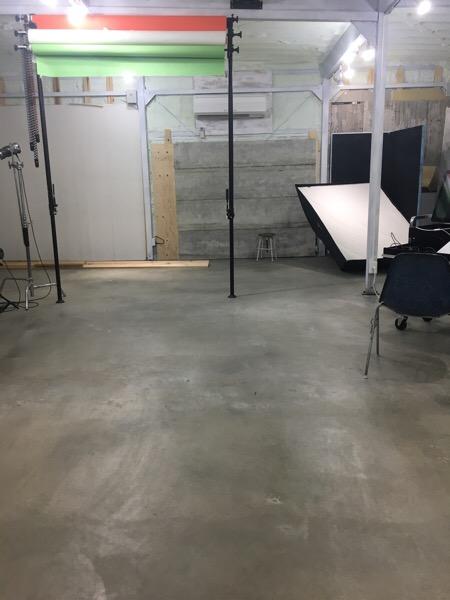 自社スタジオもあるんですよ。